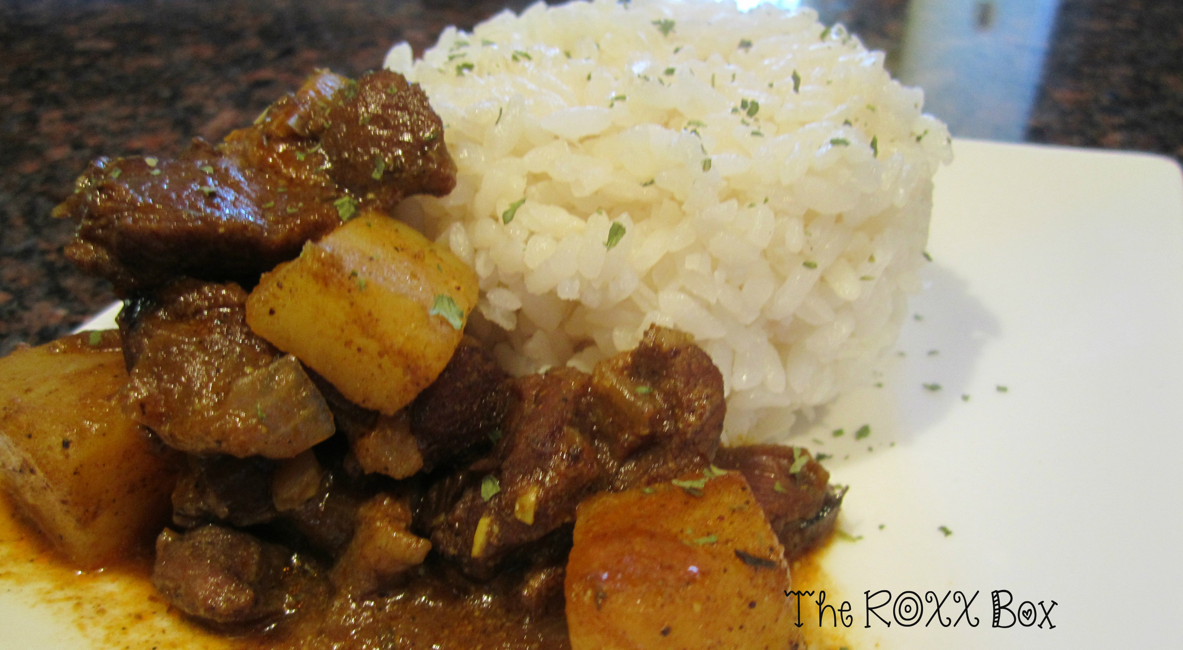 West Indian Curried Goat